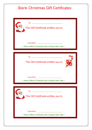 Christmas Certificates Templates For Word Magnificent Gift Certificate Template Pdf Lcysne