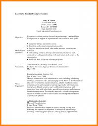 Executive Assistant Resume 100 administrative assistant resume objective letter adress 100