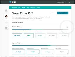 Pto Chart New In Kin Easier And More Insightful Time Off Kin
