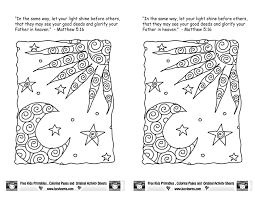 Matthew 5 16 Coloring Pages