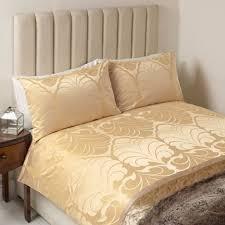 laura ashley alexander jacquard superking bedset in gold rrp 155