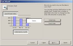 Ms Access 2003 Create A Graph Ie Chart Report
