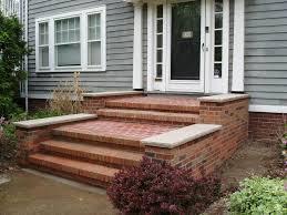 Brick Front Stoop Designs Brick Front Steps Exterior Home Remodel Pinterest Front