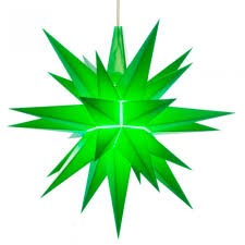Herrnhut Christmas Star Green