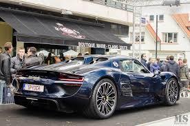 porsche 918 spyder blue. spyder belgium u2013 209918 porsche 918 spyder blue