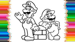 Coloring Pages Amazing Super Mario Coloring Pages Hat For Kids
