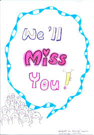 Clipart Of We Will Miss You And Good Luck On Your New Job Free