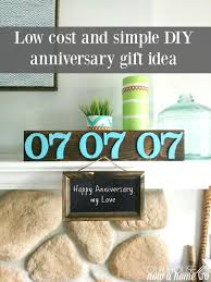 diy and low cost anniversary gift ideas