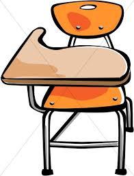 student desk clipart. Brilliant Student Orange Student Desk Intended Clipart E