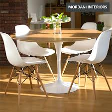 Eames Dsw Replica Eiffel Dining Chair White Clear Walnut Legs