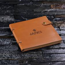 details about personalised engraved full grain leather journal diary creative writing gift
