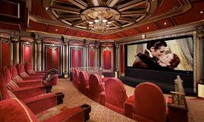 Home Theater Interiors Image On Beautiful Home Theater Interiors - Home theatre interiors