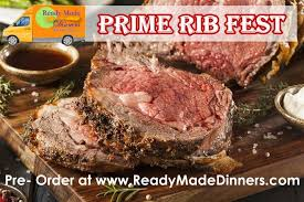 prime rib dinner. Wonderful Prime Prime Rib Dinner Ready To Cook To R