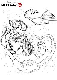 Wall E And Eve In Space