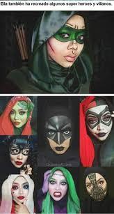 impresionantes fantasy makeup disney characters impressionism