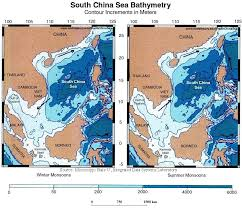 Environmental And Oceanographic Maps The South China Sea