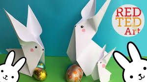 easy origami bunny 2 cute easy easter diys paper crafts you