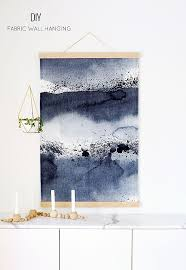 diy wall hanging the fabric is prebought the tutorial is for how to hang fabric as wall art on hanging cloth wall art with diy wall hanging the fabric is prebought the tutorial is for how