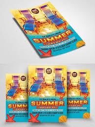 Fun Brochure Templates Beach Fun Flyer Templates Summer Flyer Summer Flyer