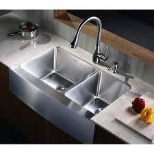 kraus farmhouse sink 33 inch farmhouse a double bowl gauge stainless steel kitchen sink kraus farmhouse
