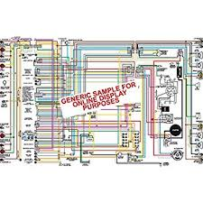 amazon com 1955 ford thunderbird 11 x 17 color wiring diagram 1955 ford thunderbird 11 x 17 color wiring diagram