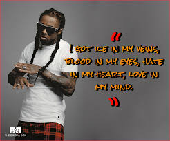 Rap Quotes About Love Inspiration Lil Wayne Love Quotes 48 Love Lyrics From The Rap Phenom