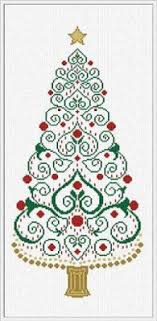 Christmas Tree Cross Stitch Chart Christmas Tree Cross Stitch Chart