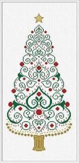 Christmas Tree Cross Stitch Chart