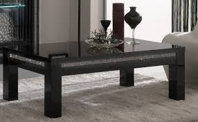 Rectangle Living Room Coffee Table Sets Black
