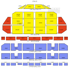 The Fabulous Fox Theatre St Louis Seating Chart Ticket