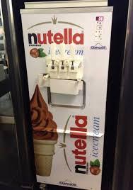 Soft Serve Vending Machine Beauteous Nutella Ice Cream Vending Machine Image Nutella Nutella