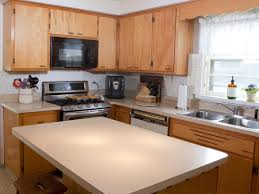 Reused Kitchen Cabinets Updating Oak Kitchen Cabinets Without Painting Monsterlune