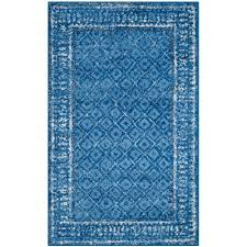 safavieh adirondack light blue dark blue 3 ft x 5 ft area rug