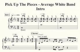 Pick Up The Pieces Chart Pick Up The Pieces Azzclefs