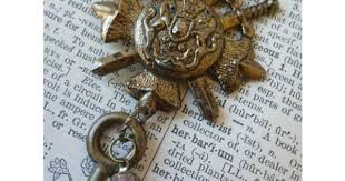 Assemblage <b>Necklace</b> English Royal Coat of by transienttreasures ...