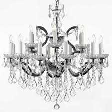 versailles 18 light rococo iron and crystal chandelier