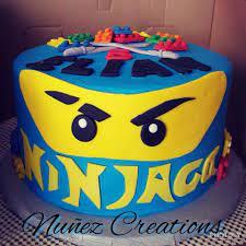 Nuñez Creations - Ninjago Lego Birthday Cake
