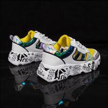 <b>Womens</b> Chunky Sneakers 2019 <b>Fashion Women</b> Platform Shoes ...