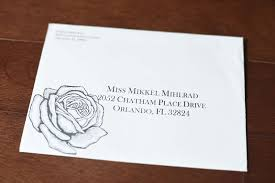 Envelopes Address Print Wedding Envelope Addressing Ideas Nyc Raleigh And