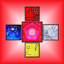 Resultado de imagen para luna  solar  roja calendario maya