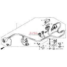 honda aquatrax part 32100 hw1 680 main frame wire harness jet 32100 hw1 680 diagram