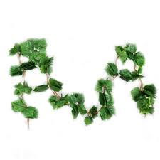 2019 artificial greenery fake hanging vine plants green artificial garland plants hangging vine rattan home weeding decoration g from paa
