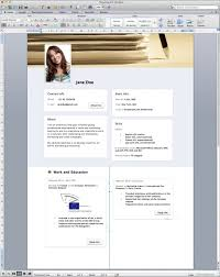 Cv Template Word Resume Sample Free Modern Templates Download