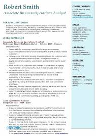 Salesforce Administrator Resume Examples Sales Operations Analyst