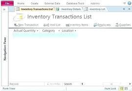 Document Management Template Microsoft Access