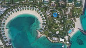 Zaya Nurai Island Seen from Above: The <b>Beautiful Blue Sea</b> and ...