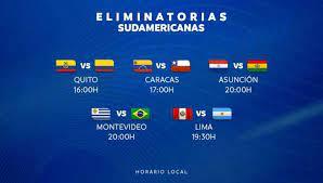Bienvenidos a la retransmisión del sorteo de las eliminatorias sudamericanas al mundial de qatar 2022. Eliminatorias Qatar 2022 Estos Fueron Todos Los Resultados De La Fecha 4 En La Conmebol Peru Vs Argentina Ecuador Vs Colombia Uruguay Vs Brasil Venezuela Vs Chile