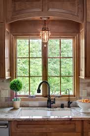 lighting kitchen sink kitchen traditional. over kitchen sink lighting traditional with arched valence bordeaux sienna