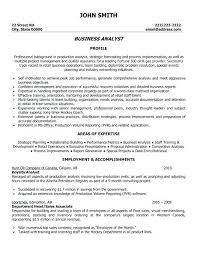Business Analytics Resume Sample Analyst Resume Samples Spectacular
