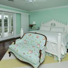 green bedroom furniture. Example Of A Classic Dark Wood Floor Bedroom Design In Miami With Green  Walls Furniture R
